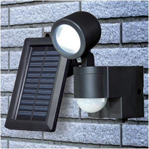 Amazon.co.jp : ELPA 屋外用LEDセンサーライト ソーラー式 1wLED 2灯 ESL ...