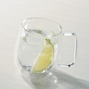 iwaki 岡田美里 紅茶ソムリエシリーズ 【2重構造耐熱ガラス】 Airマグ ML435