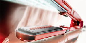 VIDAL SASOON Premium Magic Shine 【手ざわりまで魅惑する、極上ストレートを長時間キープ! 】 スチームストレートアイロン VSS9000/R