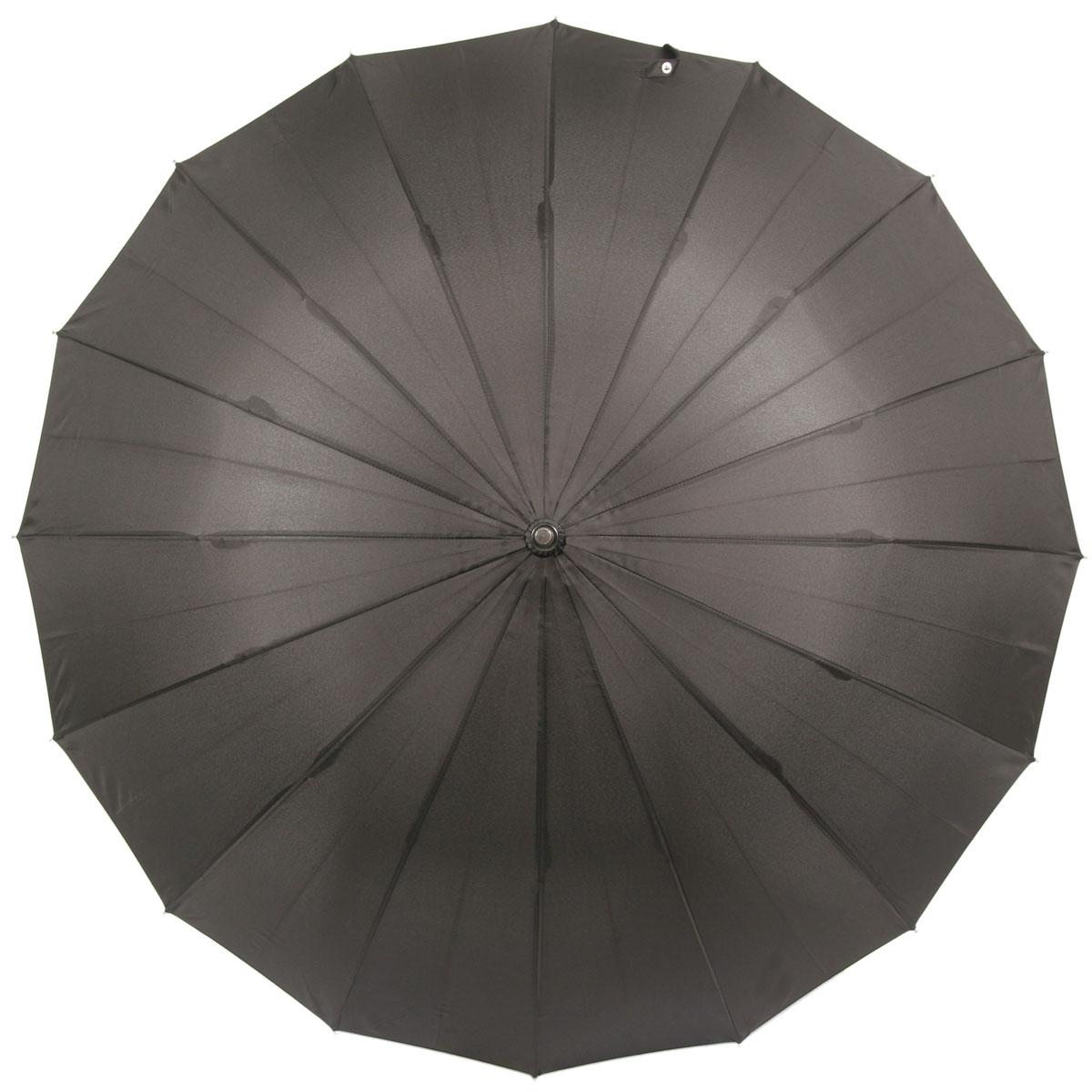 暁(akatsuki) 16本骨傘 軽量アルミシャフト仕様 ウッドハンドル チャコール (スミ黒) リングタッセル付 a06773 <34135>