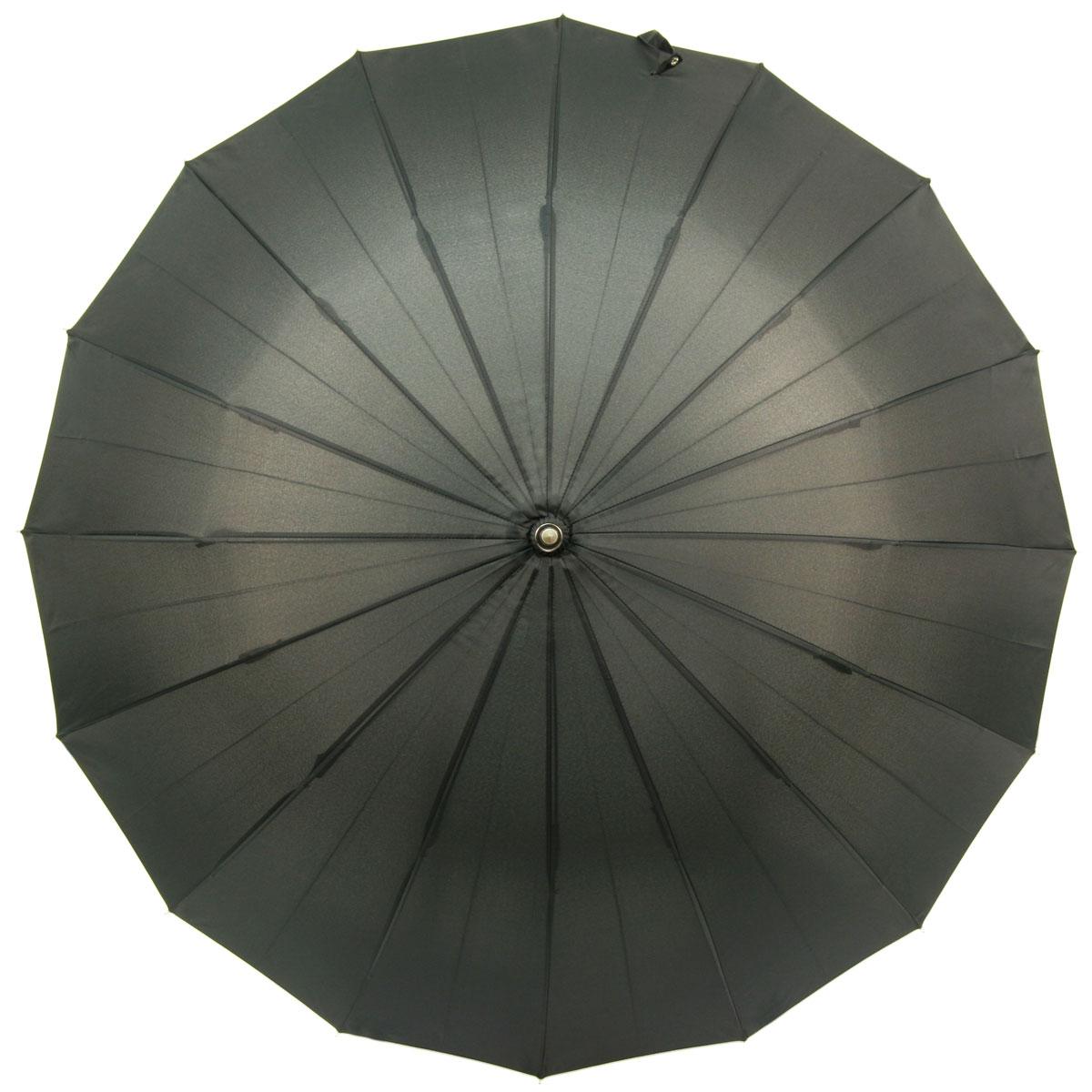 暁(akatsuki) 16本骨傘 軽量アルミシャフト仕様ウッドハンドル ダークモス (濃緑) リングタッセル付 a06772 <34137>