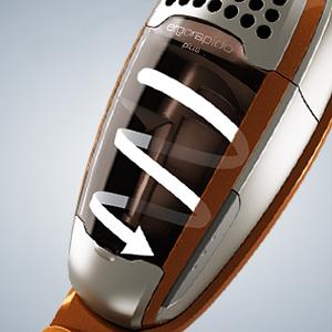 Electrolux エルゴラピード・プラス 【サイクロン式 2way コードレスクリーナー】 コッパー・メタリック ZB2904X