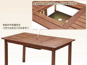 山善(YAMAZEN) ガーデンマスター BBQテーブルMFT-225BBQ