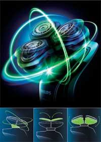 PHILIPS SensoTouch3D 【上下左右に自由自在・独立可動3Dシステムのかつてないフィット感! 】洗浄充電器付シェーバー RQ1280CC
