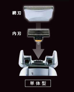 替え刃 ブラウン シリーズ5 / 8000シリーズ対応 網刃 F51S-4