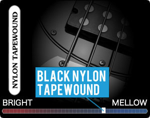 Black Nylon Tapewound