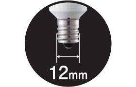 Panasonic LED電球(E12口金・小丸電球T形・10ルーメン・電球色相当)LDT1LHE12