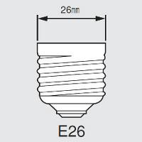 東芝 E-CORE(イー・コア) LED電球 一般電球形 光が広がるタイプ・白熱電球40W相当・485ルーメン