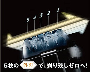 Panasonic ラムダッシュ メンズシェーバー 5枚刃