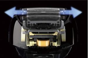 Panasonic メンズシェーバーラムダッシュ 4枚刃 白 ES-SF21-W