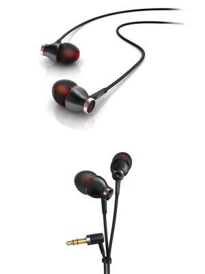 PHILIPS インイヤー 密閉 ダイナミック型 ヘッドフォン ブラック SHE9000/98