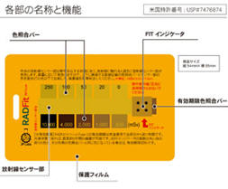 XTSafety 携帯型放射線累積線量計 RADFit(ラドフィット) Type C 米国特許取得済み 【日本正規流通品】