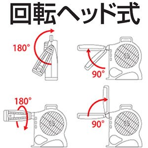 アイリスオーヤマ 充電式ファン EJF-25