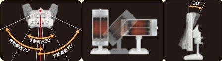 コロナ(CORONA) 遠赤外線電気ストーブ「コアヒート」(省エネセンサー搭載) シルバー DH-1111R(S)