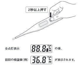 電子 ct422 シチズン 体温計