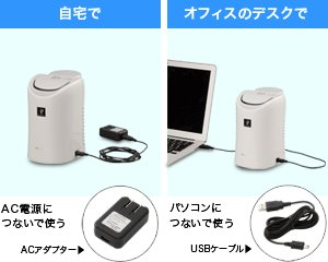 SHARP プラズマクラスター搭載 デスクトップ用 加湿機能付イオン発生機 ホワイト系 IG-DK1S-W
