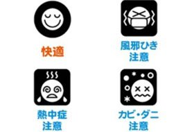 CASIO (カシオ) 電波デジタル掛け時計 温度・湿度表示