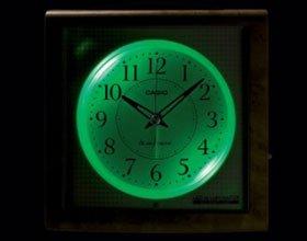 CASIO (カシオ) 電波アナログ目覚まし時計 スヌーズ機能付き電子音アラーム