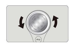 三栄水栓 シャワーヘッド 節水 ストップ レイニー