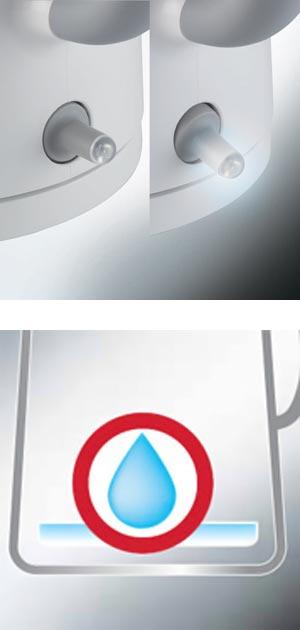 DeLonghi True(トゥルー) 電気ケトル ホワイト 0.75L JKP240J