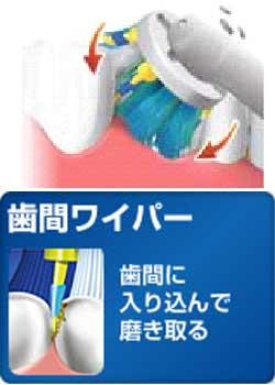 ブラウン オーラルB 電動歯ブラシ デンタプライド4000 D295354X