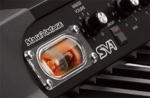 定番ビンテージ・サウンドに不可欠な6系統のエフェクト、コルグ独自の真空管回路「Valve Reactor」を採用。
