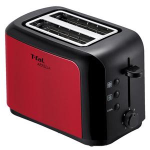 T-fal ポップアップトースター アプレシア メタリックルビーレッド TT356GJP