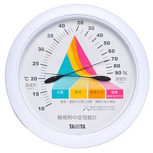 TANITA アナログ式 簡易熱中症指数計 大型 TT546-WH