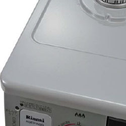 リンナイ ガステーブル コンパクト幅56cm・水有り片面焼グリル ホーロー グレー KGE31NSG