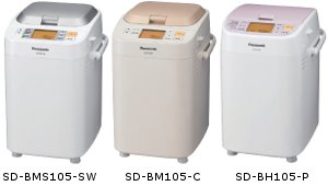 Panasonic ホームベーカリー SD-BMS105-SW