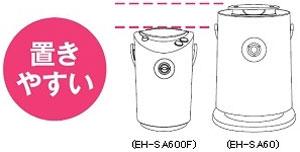 Panasonic スチーマー ナノケア 【フラストレーションフリーパッケージ(FFP)モデル】 ピンク EH-SA600F-P
