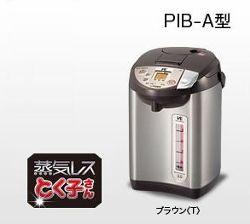 TIGER 蒸気レスVE電気まほうびん <とく子さん> (3.0l) ブラウン PIB-A300-T
