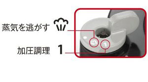 T-fal ワンタッチ開閉圧力なべ クリプソ オアシス