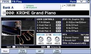 スタンダード・クラスの常識を一気に打ち破る、88鍵全鍵ステレオ・サンプリング/ノンループのピアノ・サウンド。