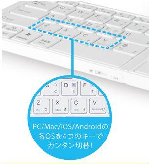 ■Android、iPhone、WindowsPC、Macに最適なキー配列に簡単切替
