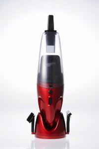 フカイ工業 充電式ウエット&ドライハンディクリーナー 6V メタリックレッド FC-830