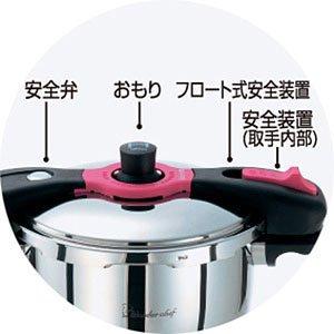 ワンダーシェフ 魔法のクイック料理 圧力鍋 レシピ本付き