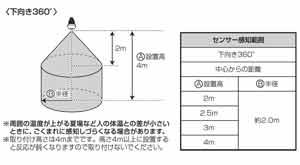 アイリスオーヤマ LED電球 人感センサー付mini 昼白色 325lm LDA4N-H-S4