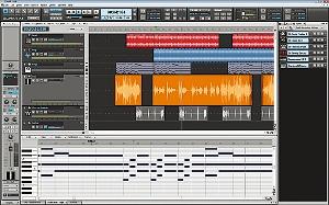 すぐに音楽制作が始められるDAWソフトウェアを同梱