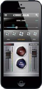 iPhoneアプリ「 CUBE JAM 」(無料)で手軽に練習、録音
