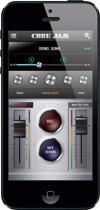 iPhoneやiPad を接続してセッションや録音が楽しめるi-CUBE LINK搭載。