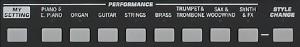 高品位で表現力あふれる、1,100種類以上の音色を内蔵。