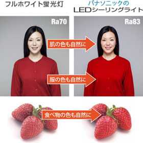 Panasonic LEDシーリングライト NaPiOnセンサ付 昼白色5000K Ra85 HH-LC230N