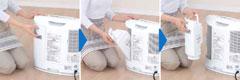 Panasonic 加湿機能付きセラミックファンヒーター
