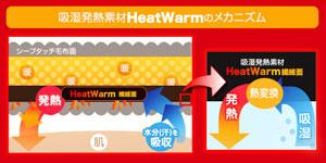 mofua HeatWarm 袖付きマイクロファイバー 着る毛布(帯付き・ポケット付き・静電気防止加工)