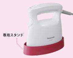 Panasonic 衣類スチーマー ホワイト NI-FS300-W