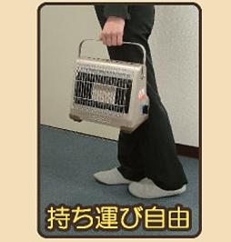 ニチネン(NITINEN) カセットボンベ式ガスヒーター ミセスヒート イヴ(屋内専用) KH-013