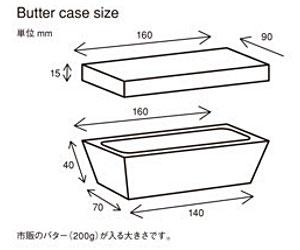 Das Holz バターケース