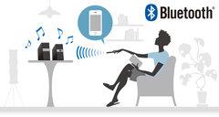 Bluetooth接続でワイヤレス再生が可能