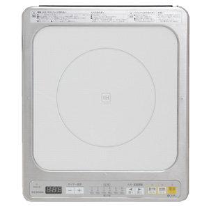 アイリスオーヤマ IHクッキングヒータービルトインタイプ 100V ホワイト IHC-B111